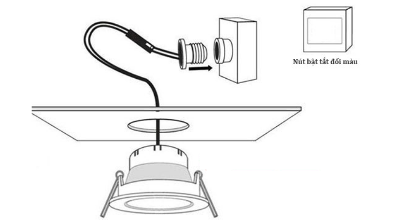 How to install with LED recessed ceiling lights